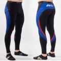 Компрессионные штаны ARTIX Fit Blue-Red